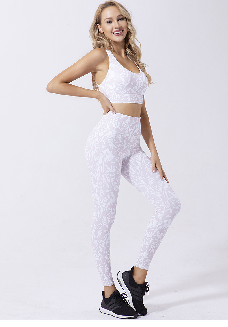 New design hot style in Europe and America wholesale fitness clothing sports bra top fitness women legging set