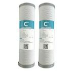 Coconut shell activated carbon filter cartridge 10 inch water filter