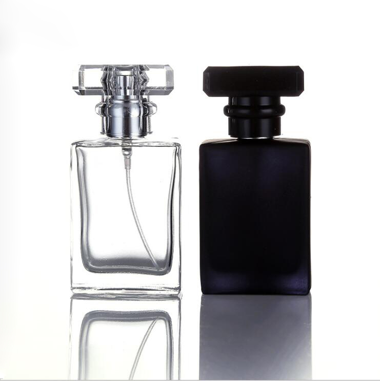 Grosir 30 Ml 50 Ml Hitam China Kosong Flacon Kaca Botol Parfum