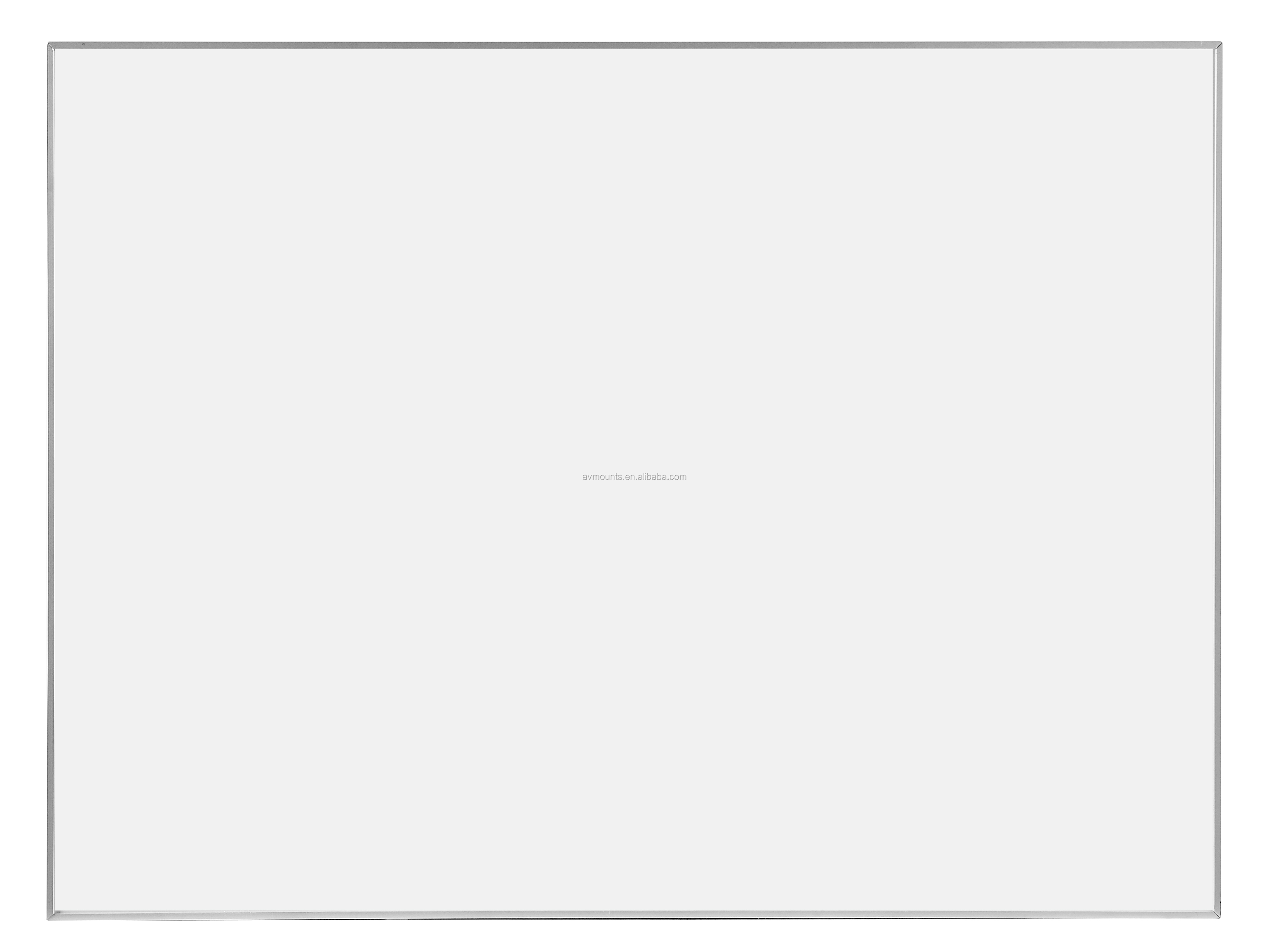 Двухсторонний мобильный Магнитный сухой стереть записи белая доска с подвижными металлическими роликами для школы и класса