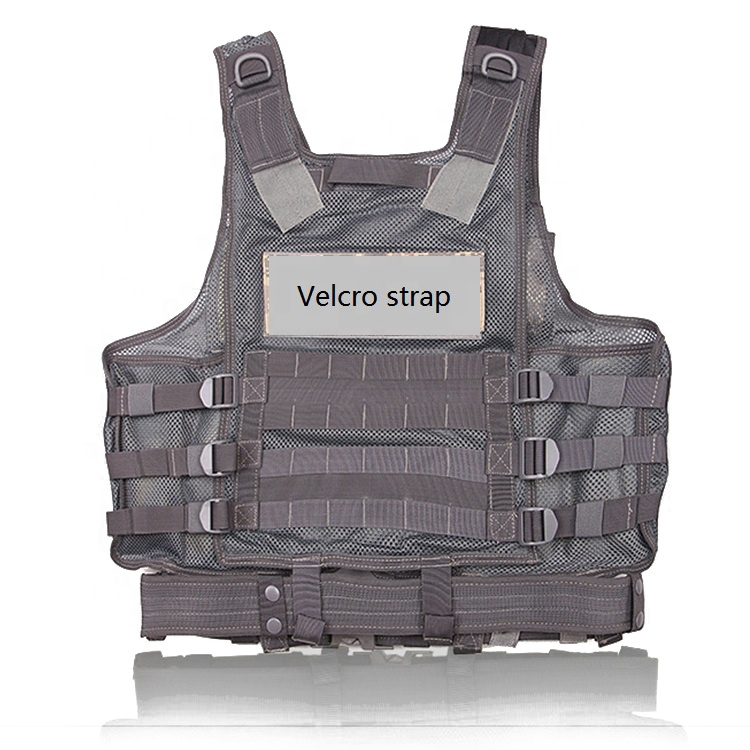 Verstelbare Lichtgewicht Militaire Airsoft Paintball Vest Tactical Assault Molle Vest