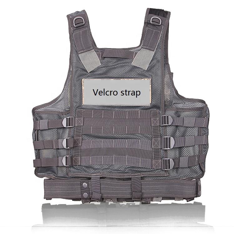Trendy Politie Vest Zwart Jacht Molle Tactische Vest Voor Militaire Leger