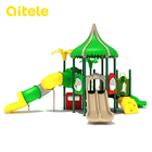 Kids play area outdoor playground system for amusement park