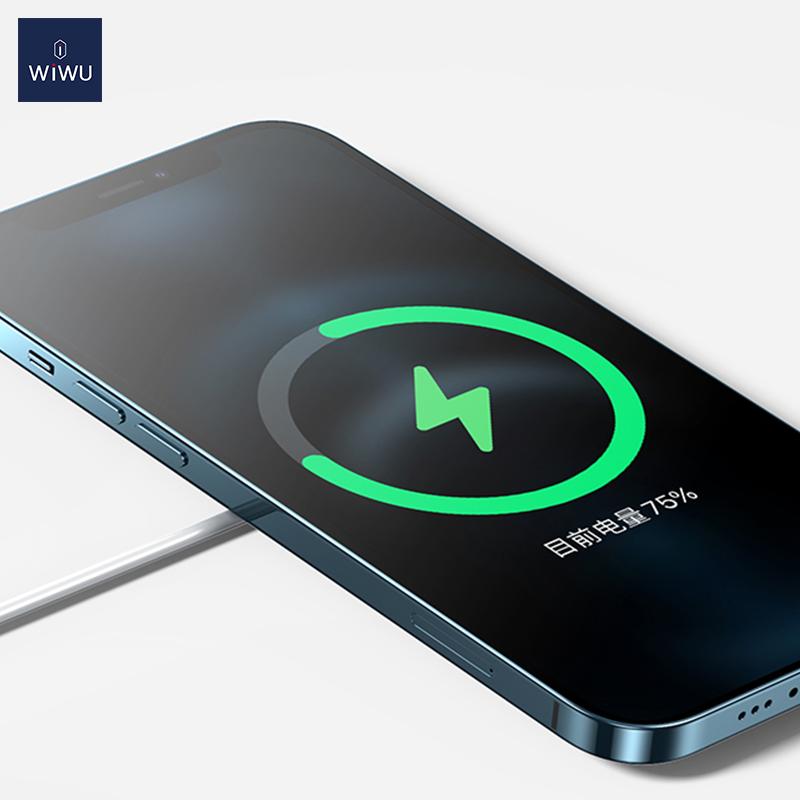 WiWU iPhone12磁吸附 无线充 (https://www.wiwu.net.cn/) 无线充电器 第5张