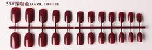 Lghzlink маникюрный Маникюр 24 шт матовые насадки для накладных ногтей поддельные формы для ногтей для наращивания маникюрный дизайн для наклад...(Китай)