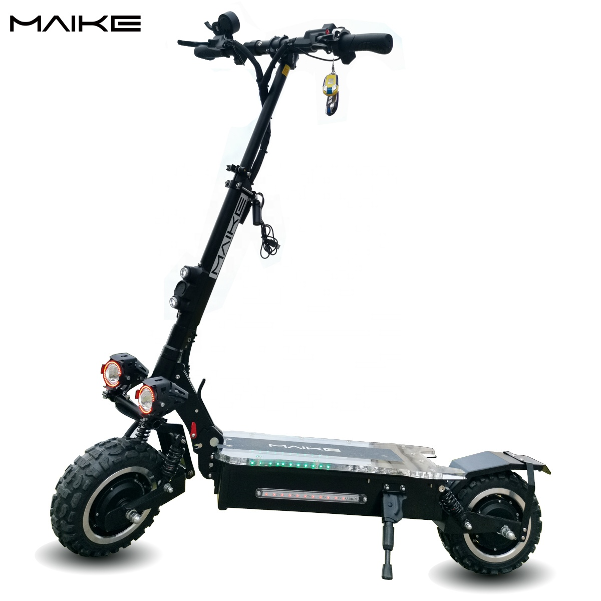Maike KK4S adult self balance 60v 25ah 1600W*2 big wheel offroad foldable off road 3200W dual motor electric scooter