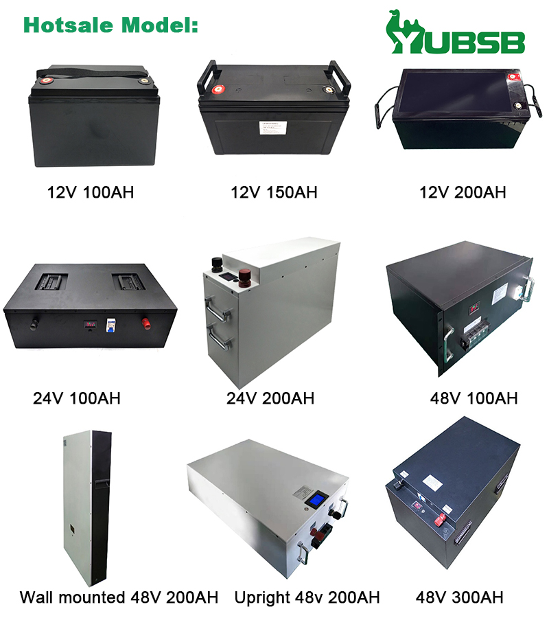 OEM available 48v 200ah lifepo4 battery pack wall-mounted lithium battery