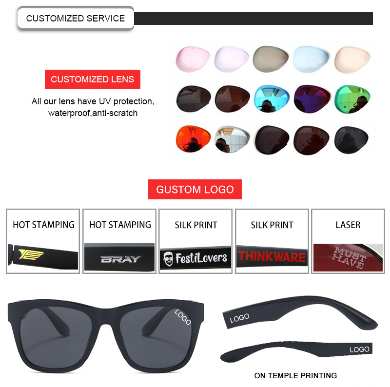 Fuqian men folding sunglasses fashion design for running-25