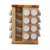8-Inch-by-11-1/2-Inch Sugar Maple Wood Spice Rack in Carousel