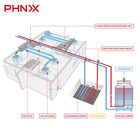 Ac Water PHNIX AC 20ton Water Cooled Air Conditioner Package Unit