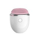 Wholesale Personal Care Wireless charging Face Ultrasonic Scrubber Waterproof Vibrating Facial Skin Cleansing Brush