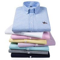 New Design High Quality Custom Oxford Men's Shirts Casual Shirts For Men