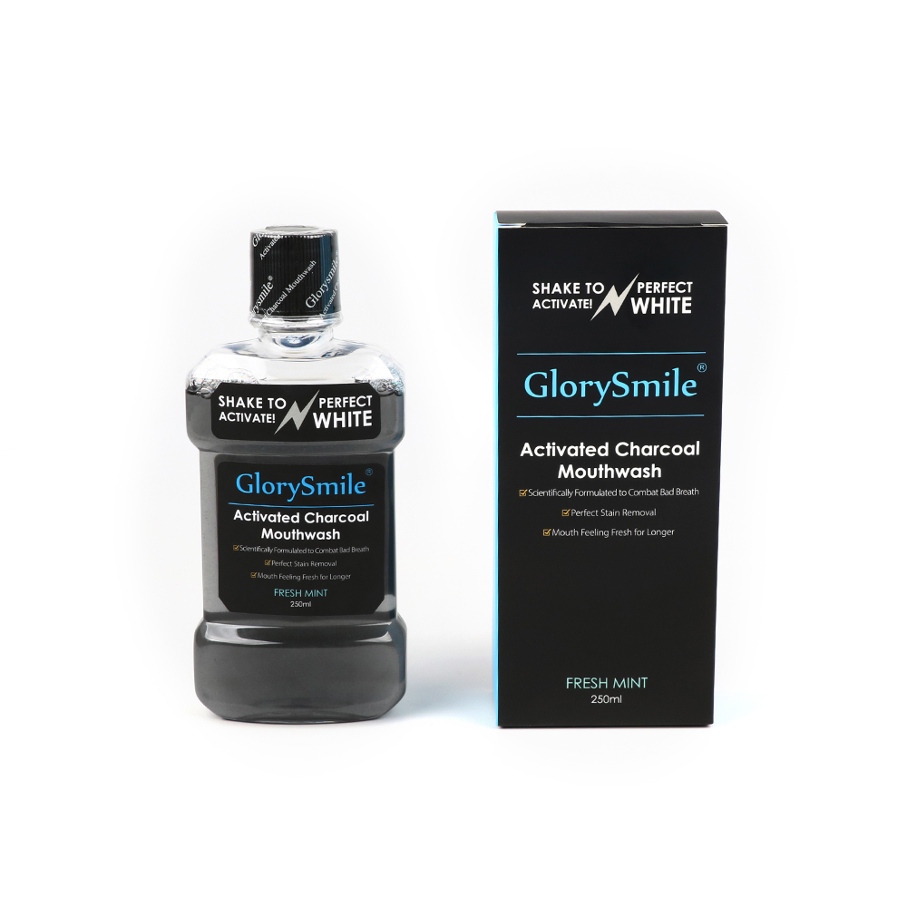 Best Seller Mint Flavor Fresh Breath Alcohol And Sugar Free Mouth Wash Activated Coconut Charcoal Mouthwash With Bottle