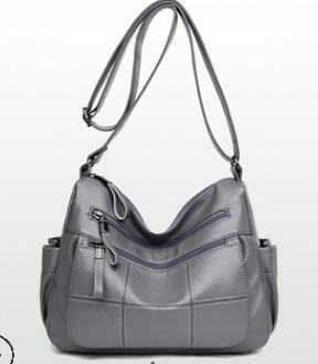 Сумки из натуральной кожи для женщин 2018 сумки на плечо с цепочкой Роскошные брендовые сумки женские сумки дизайнерские сумки через плечо N365(Китай)