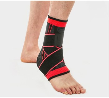 2019 Hot sport Factory adjustable Neoprene Portable Sports Protective Ankle Support