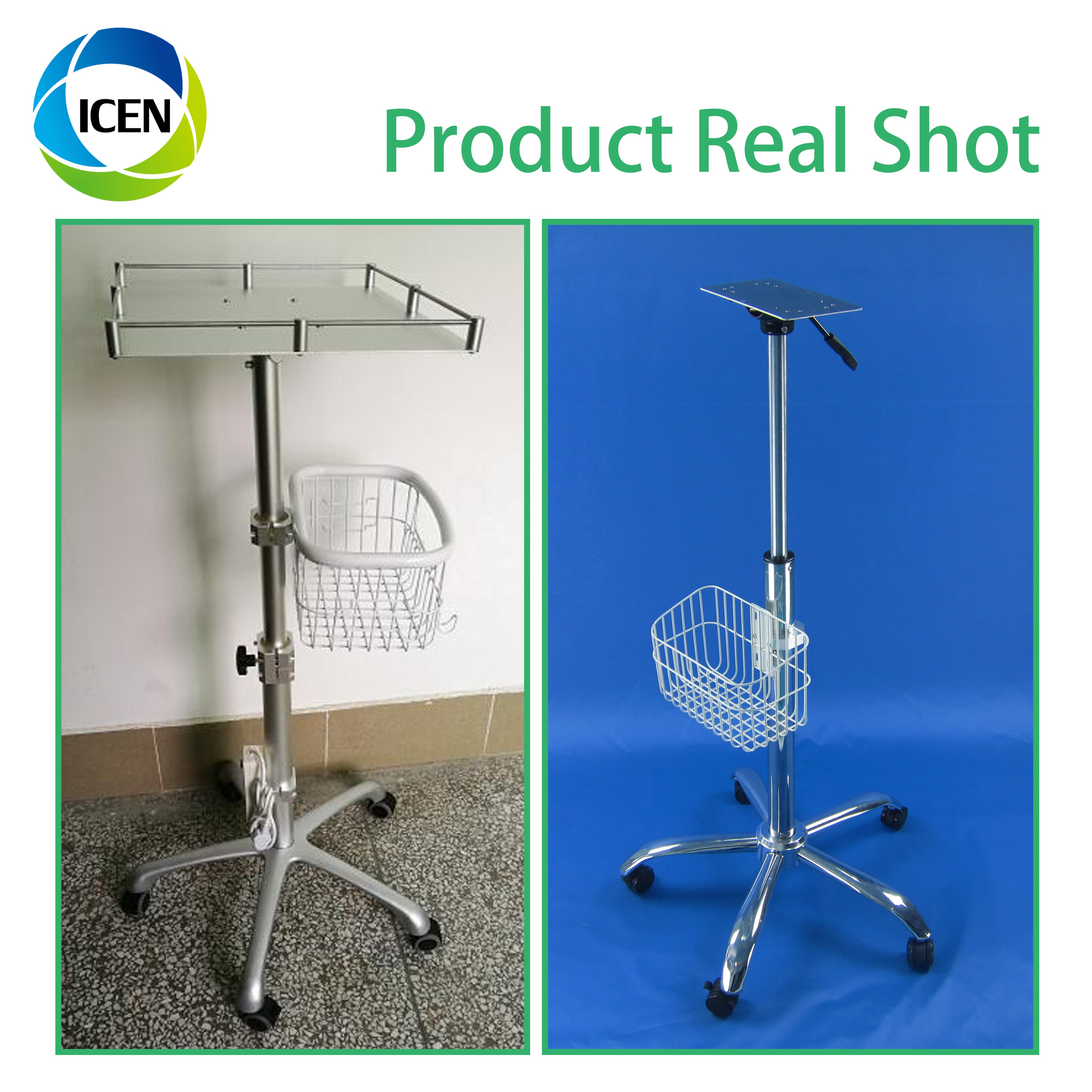 IN-C1 Hot sale Medical Devices Patient monitor trolley