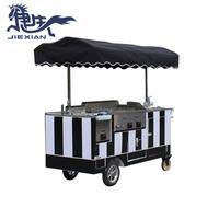 JX-CC180 street food kiosk Vending Machine coffee crepe cart taco cart for sale