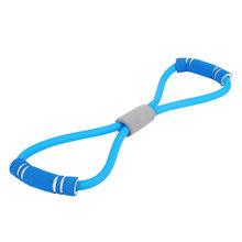 Пилатес пояс для йоги Slackline растягивающийся ремешок Коврик для йоги инструменты для тренировок Flex Bar Pull Up Assist Аксессуары для йоги # y4(China)