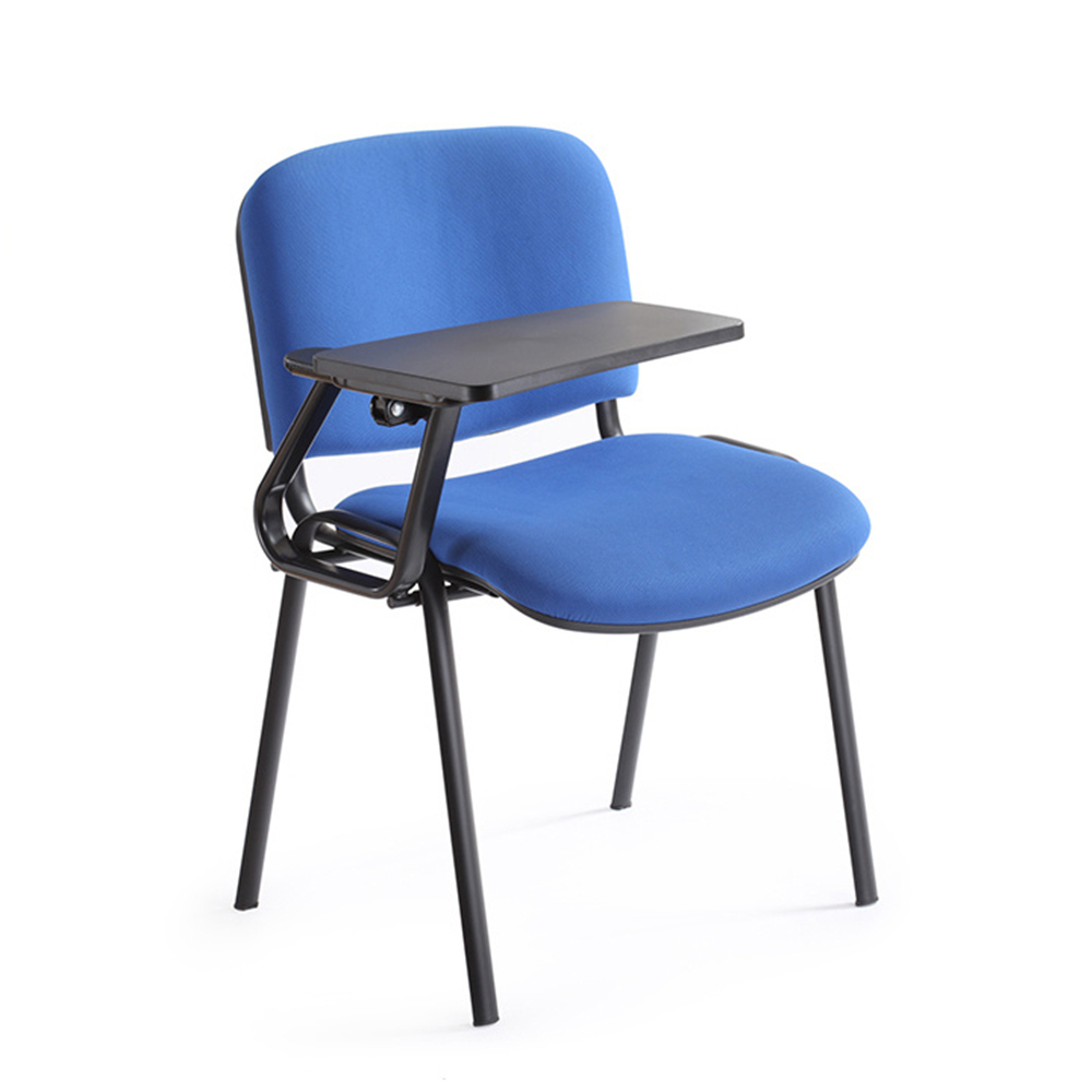 Training chair plastic training chair board swivel chair with writing tablet
