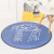 Cartoon Weather round suede carpet living room bedroom mat tea table hanging basket carpet
