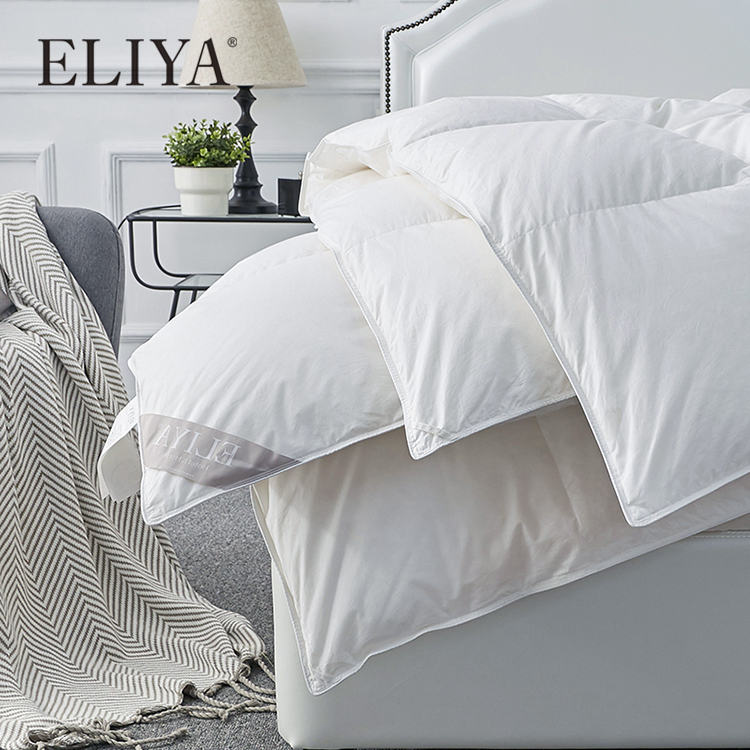 משלוח מדגם מעולה באיכות למטה עבה מלון אוסף יוקרה מלון הכנס שמיכת שמיכה