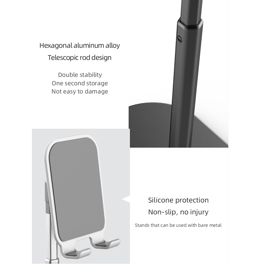 Hot Sale Angle Adjustable Phone Stand Mobile Holder for Tablet Cellphone
