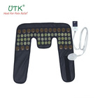 Magnetic pain relief far infrared neck and shoulder jade stone thermal pad