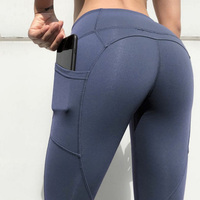 Wholesale Custom Logo Fitness Gym Bulk Yoga Peach Buttock Sport Women Seamless Hot Sex Tight Athletic Leggings Spandex Pants