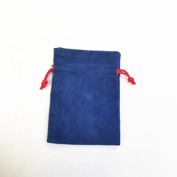 Wholesale Custom Double-faced Velvet Drawstring Bag Jewelry Pouch