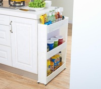Best Wholesale Storage Rack for Kitchen or Bathroom, Collapsible Home Toilet Storage Rack