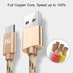 3.1 Fast Charging Usb Type C Charger Data Cable For Android Samsung Huawei Xiaomi Lg Cable Wire