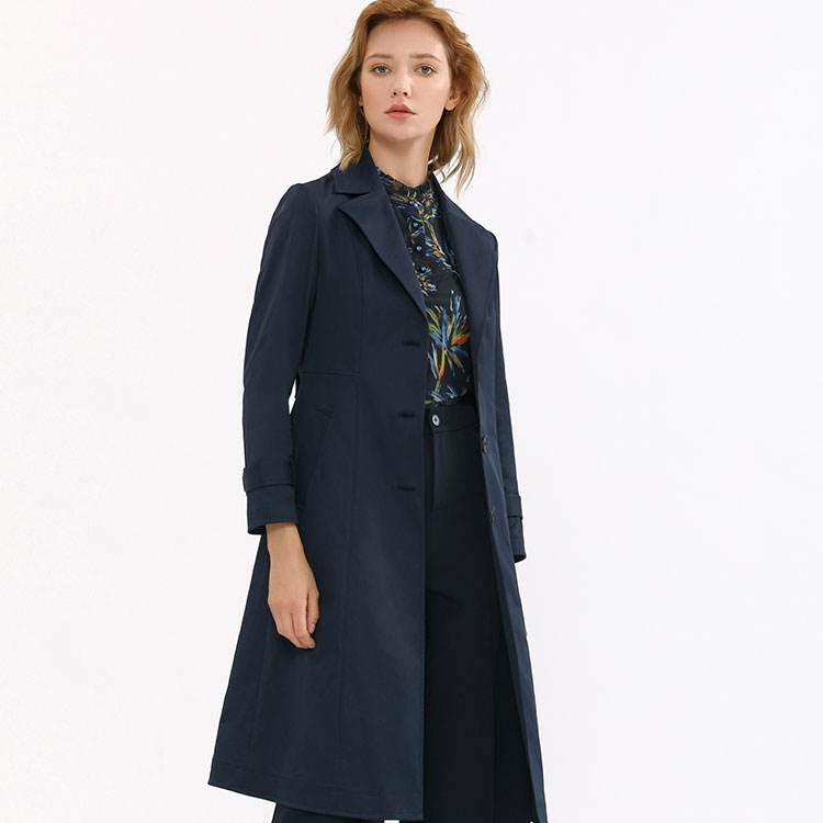 Fashion New Design Navy <strong>Coat</strong> Woman Winter <strong>For</strong> <strong>for</strong> Ladies <strong>Trench</strong> <strong>Coat</strong> <strong>Women</strong>
