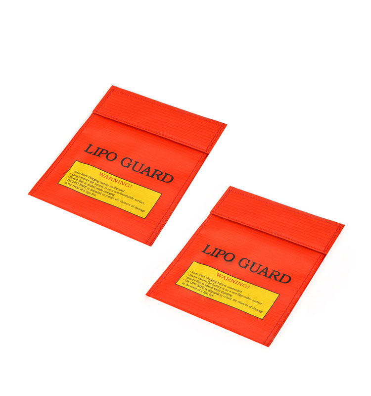 Red Black Silver Fireproof Waterproof Safety Protective Charge Sack 180x230mm Lipo Guard Fire Safe Bag For RC Drone LiPo Battery