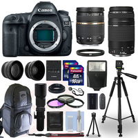 BRAND NEW HOT SALES Wholesales For Canon EOS 5D Mark IV DSLR Camera & 24-105mm f/4L II USM Lens+ 64GB Pro Video Kit