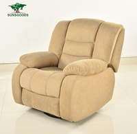 Custom Italian Leather multifunction Electric one seater power bed recliner chair singapore