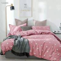 ins super popular fashion designs 100% cotton printed fabric for making bed sheets
