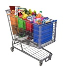 Recyclable Customized Durable Non Woven Cart Trolley Shopping Bag Set