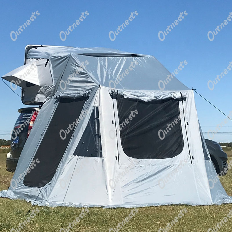 Overland 4wd Mini ultra-light weight hard shell car Roof Top Tent