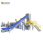 300-1500KG waste film plastic recycling machine ldpe