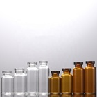 Vial Vial Glass 2/4/6/8/10/15/20/25/30ml Medicinal Use Laboratory Reagent Glass Bottle Glass Vial