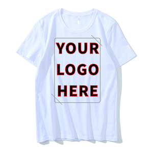 Design Your Own Cotton T Shirt/Custom LOGO T Shirt Printing/Men's T Shirt Made In China