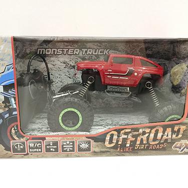 Ücretsiz örnek yeni varış uzaktan kumanda Off Road kros Bigfoot canavar kamyon 4 tekerlekli araba yarışı 2 yüksek hız