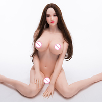 Full bambola del sesso Body Silicone Big Ass Huge Breast Tpe Realistic Fat robot sex doll