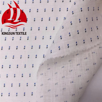 Hot Sales 100% Printed Linen Fabric Clothing Fabric for Child men's shirt