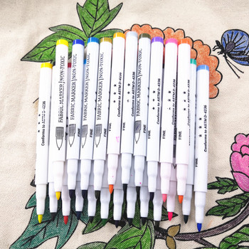 Private Label Custom Non Removable Permanent Waterproof Permanent Fabric Marker