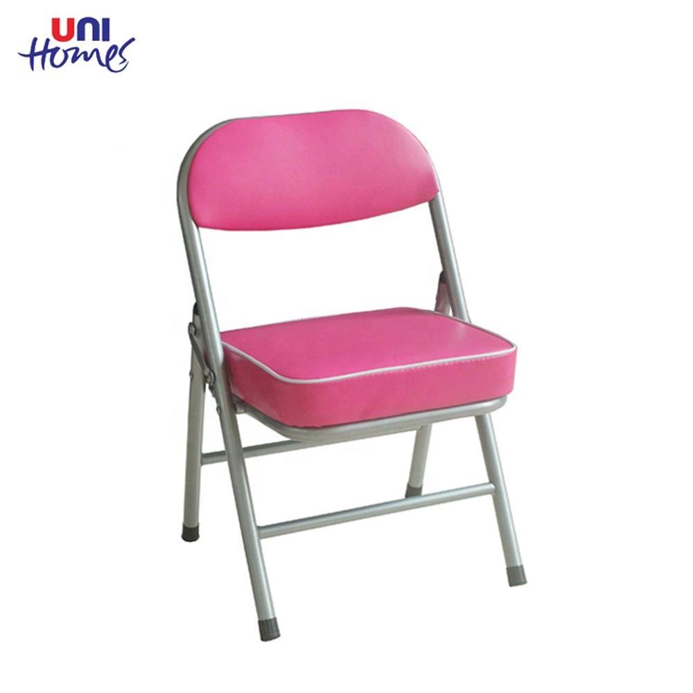 sillas plegables pu rojo