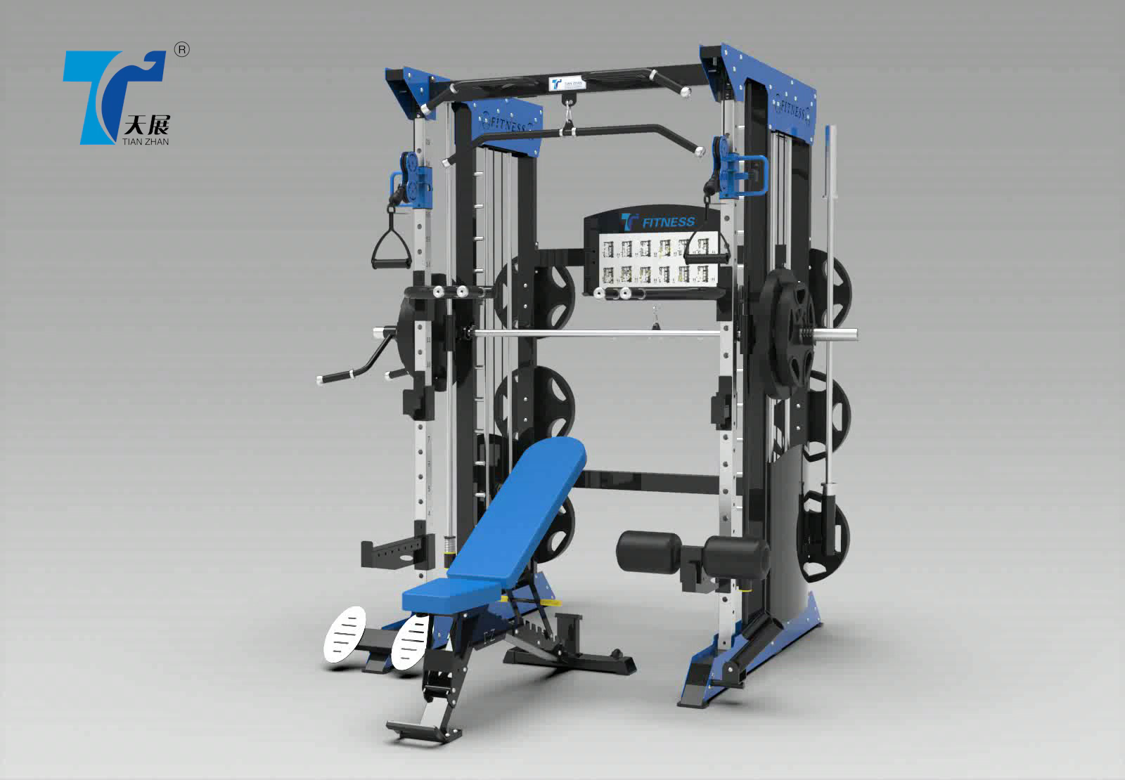 Factory Price Home Use Strength Fitness Equipment Multi Gym Single Station