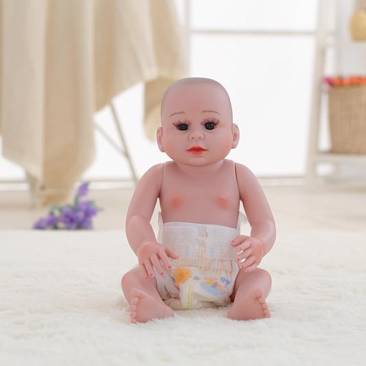 2020 fabbrica di fabbricazione su ordinazione Del Silicone Rinascita kit Bambola Reborn Bambola molle Del Bambino di Simulazione Baby Doll giocattoli per i bambini