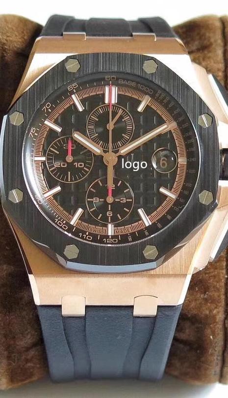 Customized EOM Luminous watch JF factory 26400 A3126 movement Piguet Royal offshore audemars AP watch