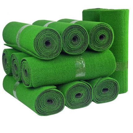 Synthetic field turf artificial grass for garden, Dark green